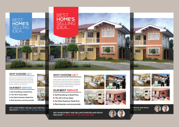 the perfect real estate flyer knowing the importance of an ideal